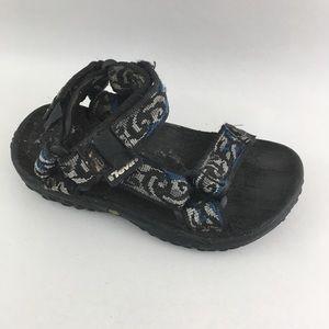 Teva Hurricane Sport Sandals Gray Blue Toddler 10
